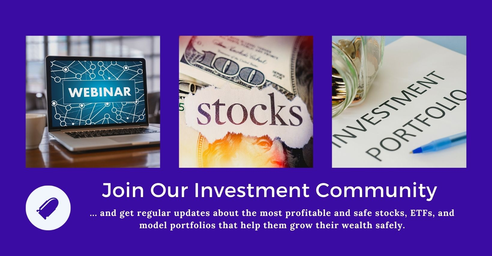 Join the investment community