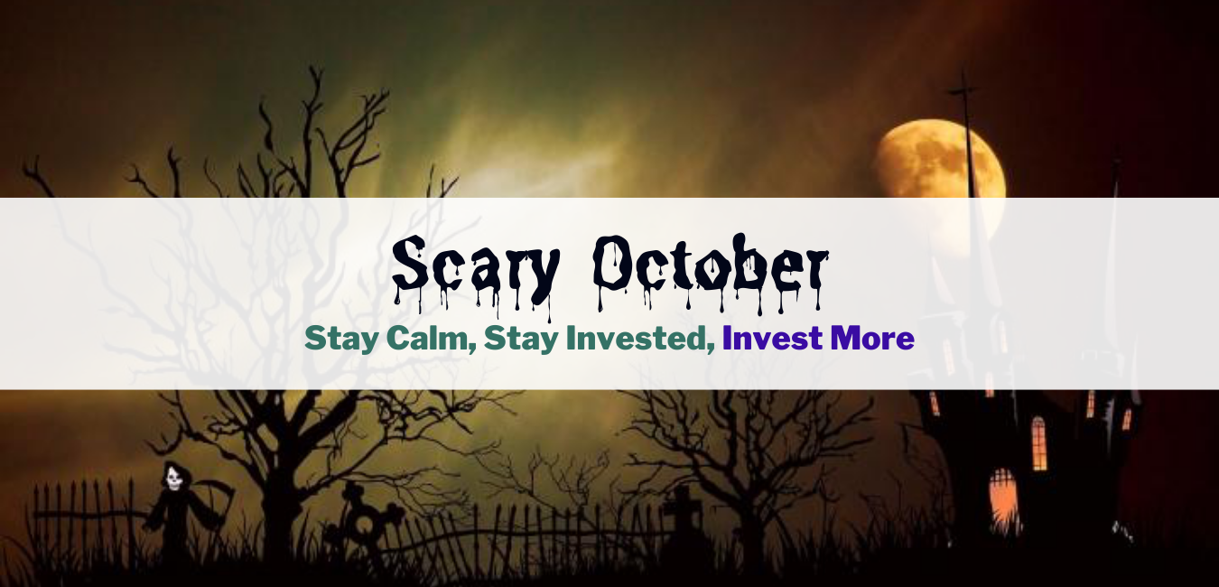 Stay calm, stay invested, invest more